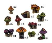 Basing Kit - Mushrooms