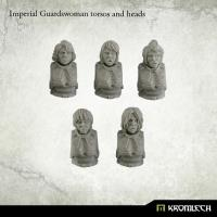 Imperial Guardswoman Torsos & Heads