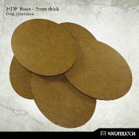 120x92mm Oval Bases - 3mm HDF