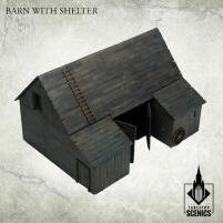 Barn w/Shelter