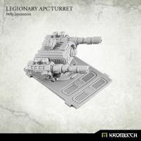 Legionary APC Turret - Twin Lascannon