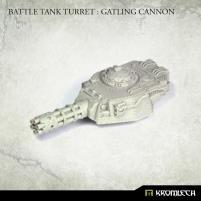 Battle Tank Turret - Gatling Cannon