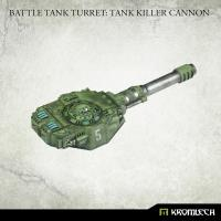 Battle Tank Turret - Tank Killer Cannon