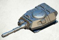 Legionary Assault Tank Turret - Heavy Autocannon