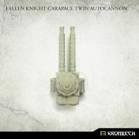 Fallen Knight - Carapace Twin Autocannon