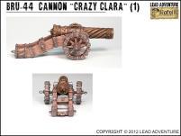 Cannon 'Crazy Clara'