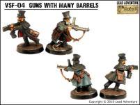 Guns with Many Barrels