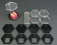 "1"" Hex Dice Stand (5)"