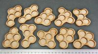 Horde Trays - 5 Figures, 20mm Round Bases (10)