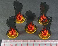 Flaming Wreckage - Medium