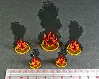 Flaming Wreckage - Assorted Sizes
