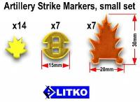 Artillery Strike Markers - Small