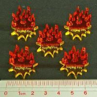Steampunk Wars - Raging Fire Markers (5)