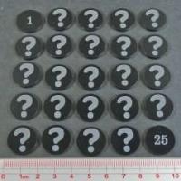 Clue Tokens 1-25