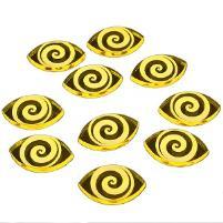 Cthulhu Focus Tokens - Transparent Yellow (10)