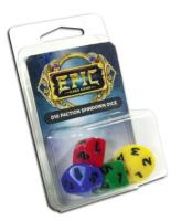 Epic d10 Faction Spindown Dice (4)