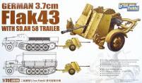German 7.2cm Flak 43 w/Sd. Ah 58 Trailer