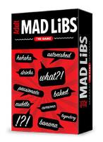 Adult Mad Libs - The Game