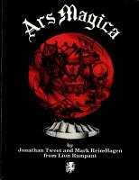 Ars Magica (1st Edition, 2nd Printing)
