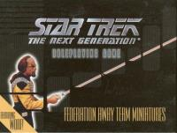 Federation Away Team Miniatures