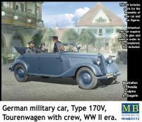 German Military Car - Type 170V Tourenwagen w/Crew