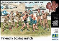 """British & American Paratroopers - """"Friendly Boxing Match"""""""