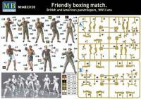 "British & American Paratroopers - ""Friendly Boxing Match"""