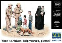 """""""Here is Snickers, Help Yourself Please"""""""