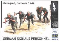 German Signals Personnel - Stalingrad, Summer, 1942