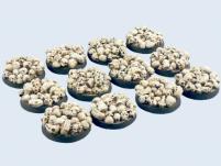 25mm Skull - Round Bases