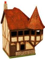 Corner House with Turret
