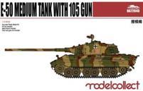 German WWII E-50 Medium Tank w/105 Gun