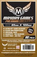 Premium Magnum Copper Card Sleeves (80)