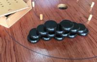 "Crokinole 26"" Tournament Board - Rosewood"