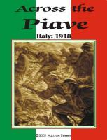 Across the Piave - Italy 1918