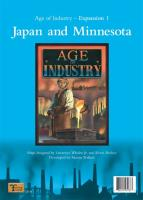 Age of Industry - Expansion #1, Japan and Minnesota