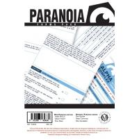 Paranoia Forms Pack