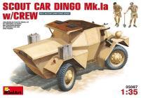 Scout Car Dingo Mk.Ia w/Crew
