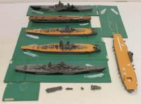 1/1200 Plastic WWII Ship Collection #1