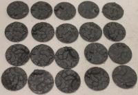 25mm Cracked Earth Base Inserts #1