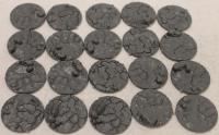 25mm Cracked Earth Base Inserts #2