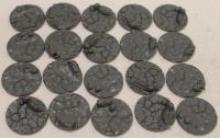 25mm Cracked Earth Base Inserts #3