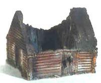 Borodino - Destroyed Barn