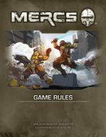 Mercs Core Rulebook (1st Edition)