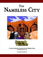 Nameless City, The (White Box Rules)