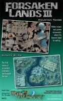 Poster Map #21 - Forsaken Lands #3, Mountain Tombs/Sunken Ruins