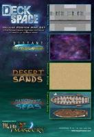 Deck Space - Deluxe Poster Map Set