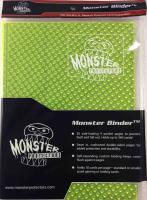 Monster Binder - 9 Pocket Pages, Holofoil Highlighter Yellow