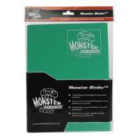 Monster Binder - 9 Pocket Pages, Matte Emerald Green