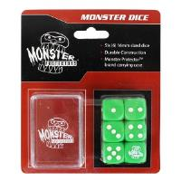 Dice Set w/Carrying Case - Green (6)